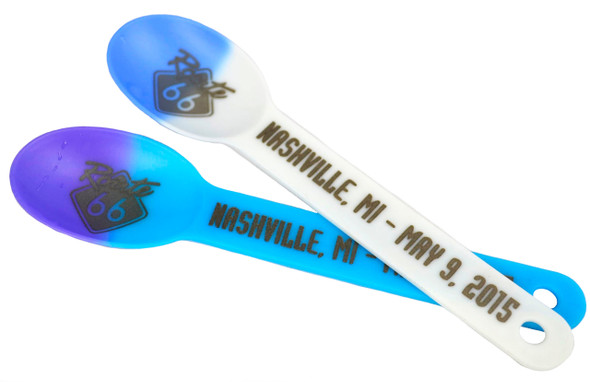 Custom Plastic Magic Color Changing® / Solid Color Spoons