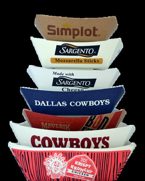 Custom Paper Food Trays