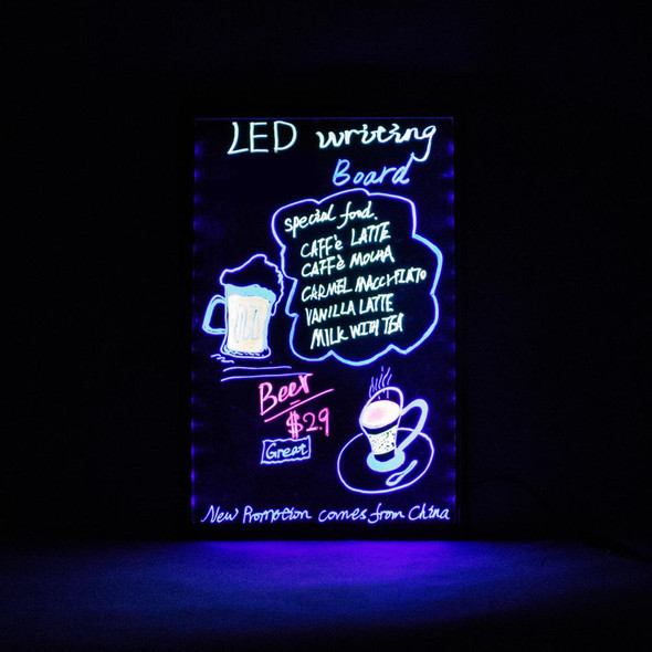 Acrylic LED Light-Up Menu Writing Board (BACKORDERED)