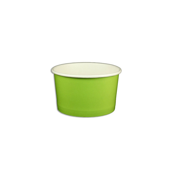 5oz Ice Cream/Froyo Cups 87mm 1000ct Green