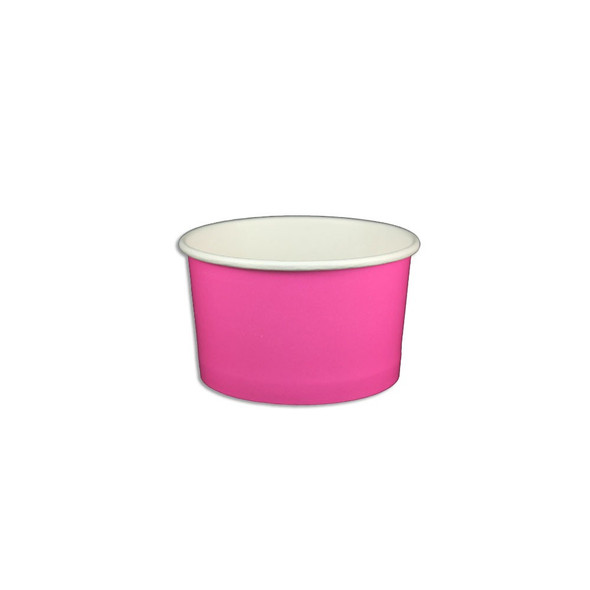 5oz Ice Cream/Froyo Cups 87mm 1000ct Pink