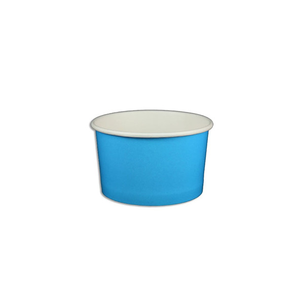 5oz Ice Cream/Froyo Cups 87mm 1000ct Blue