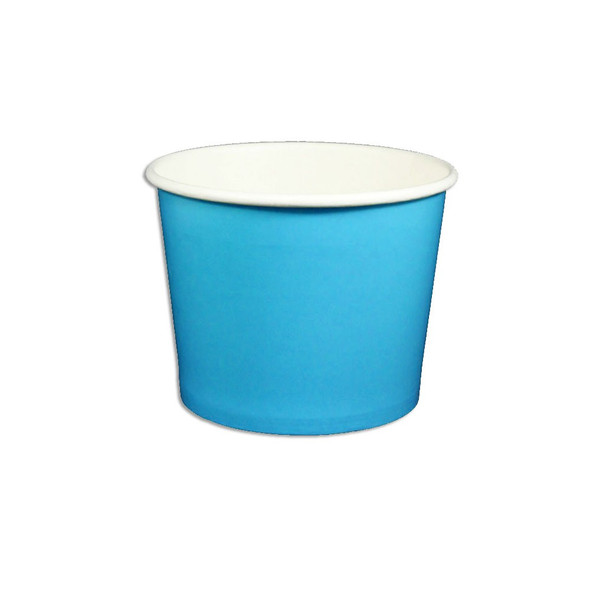 12oz Ice Cream/Froyo Cups 102mm 1000ct Blue