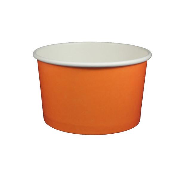 20oz Ice Cream/Froyo Cups 127mm 600ct Orange