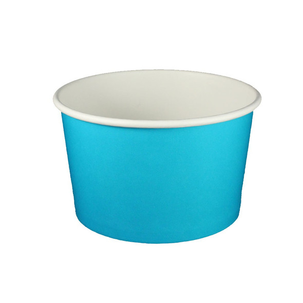 20oz Ice Cream/Froyo Cups 127mm 600ct Blue
