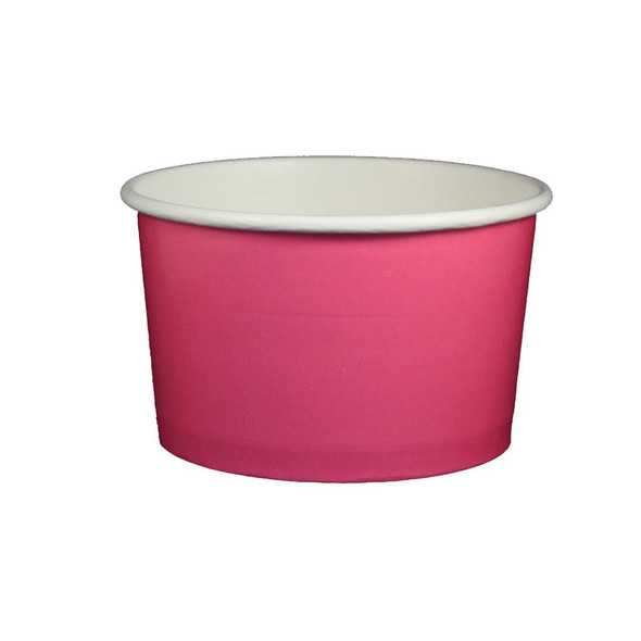 20oz Ice Cream/Froyo Cups 127mm 600ct Pink