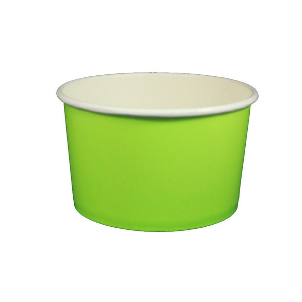 20oz Ice Cream/Froyo Cups 600ct 127mm Green