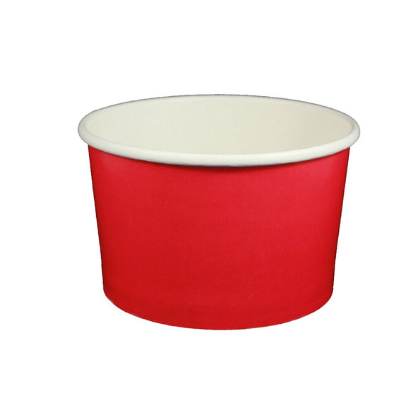 20oz Ice Cream/Froyo Cups 127mm 600ct Red