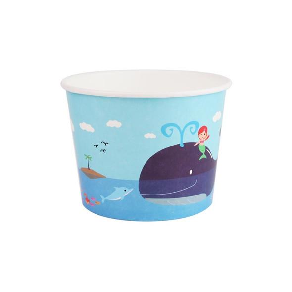 16oz Ice Cream/Froyo Cups 112mm 1000ct Waterworld