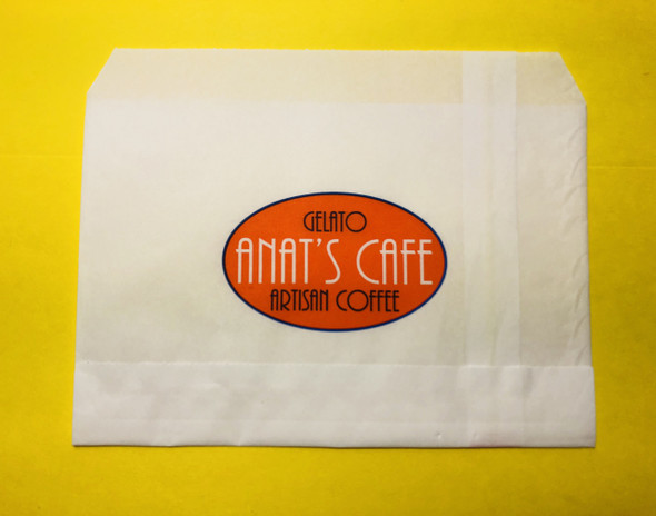 Custom Paper Food Wrapper Pocket