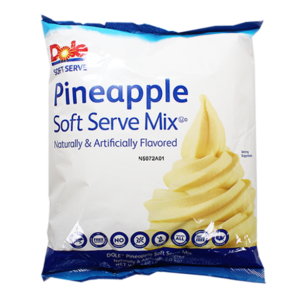 Dole Whip Soft Serve Mix - Pineapple  1 Case