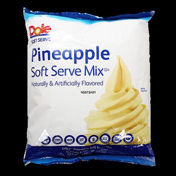 Dole Whip Soft Serve Mix - Pineapple  1 Case
