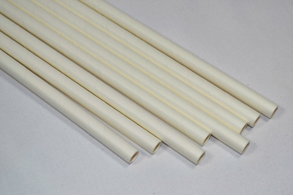 Paper White GIANT Wrapped 7.75″ Straws 1600 Count