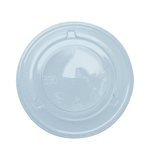 FSI 98mm PET Flat Lids - Clear 1000ct