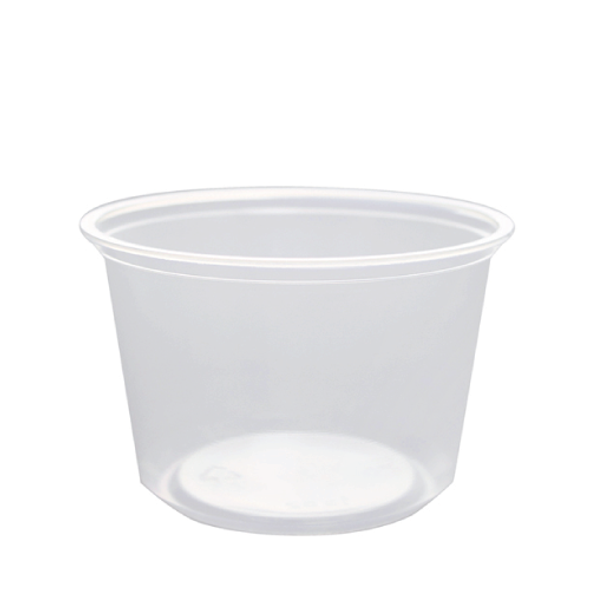 Frozen Solutions 16oz Clear PP Deli To-Go Containers - 500ct