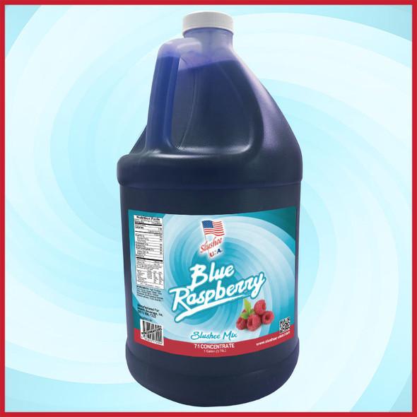 Slushee Mix – Blue Raspberry