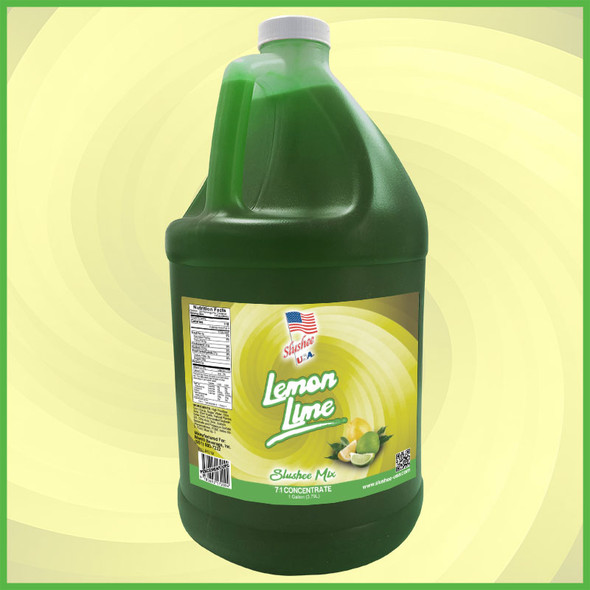 Slushee Mix – Lemon Lime