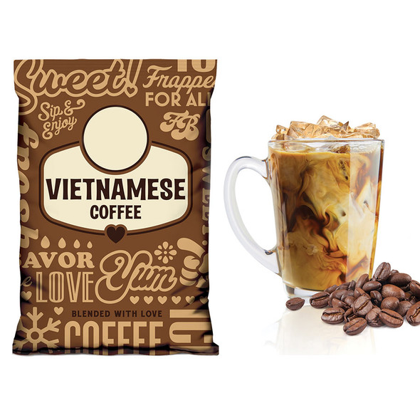 Vietnamese Coffee Gelato Mix - Frozen Bean