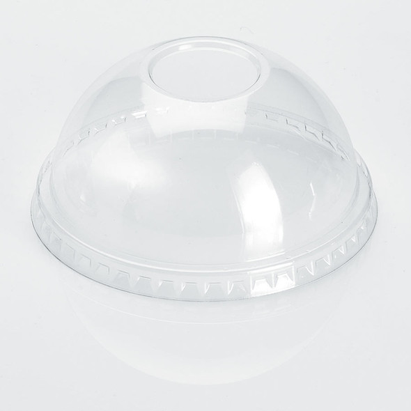PET Dome Lid with Hole for 14-24oz PET cup 98mm 1000ct