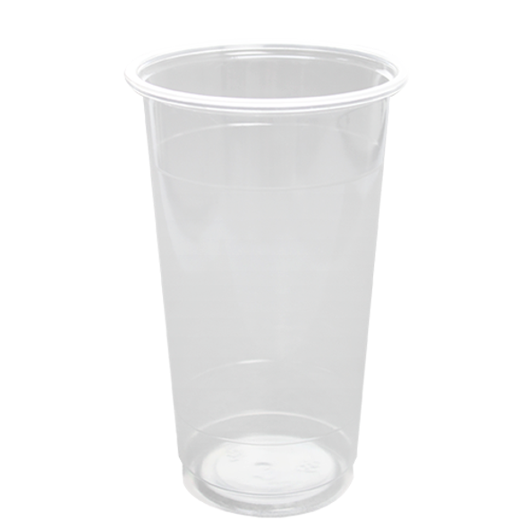 FSI 24oz PP Sealable U-Rim Cold Cups 95mm 1000ct