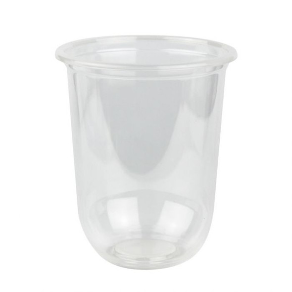 Q Cup 16oz Clear Round Bottom PP Cup (95mm) - 1 case (1000 piece)