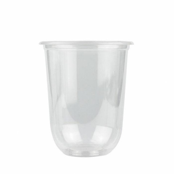 Q Cup 12oz Clear Round Bottom PP Cup (95mm) - 1 case (1000 piece)