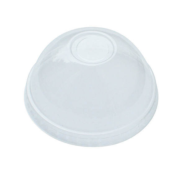 90mm 12-24oz Dome Lids w/C Hole for Paper Drink Cups 1000ct - Frozen Solutions