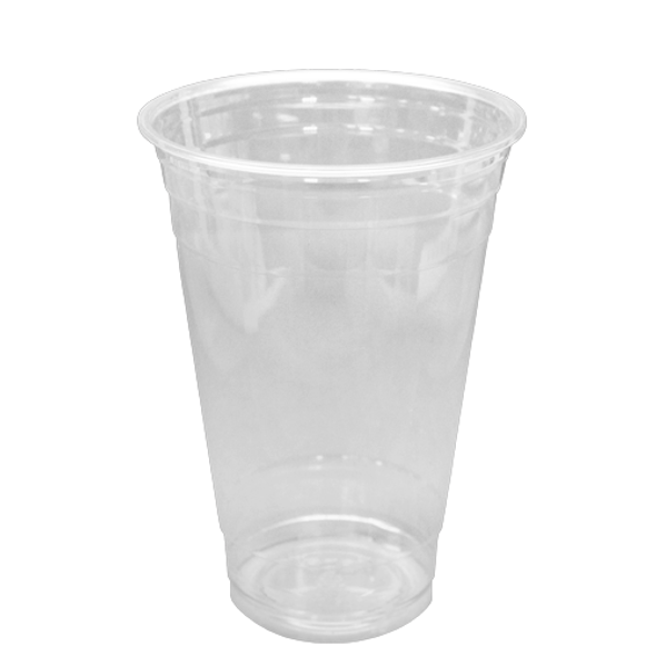Frozen Solutions  20oz PET Cold Cups - Clear 98mm 1000ct