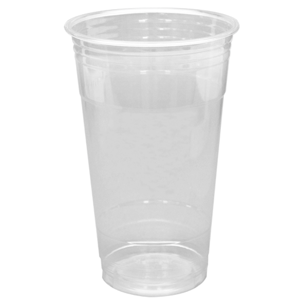 Frozen Solutions 24oz PET Cold Cups - Clear 98mm 600ct