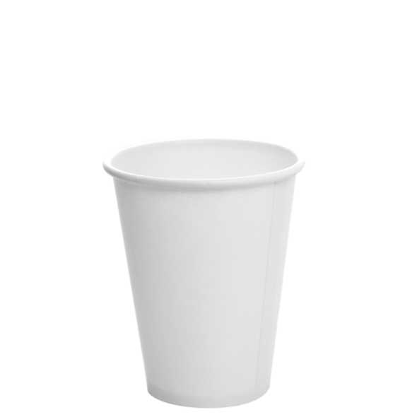12oz Cold Paper Drink Cup White 420cc