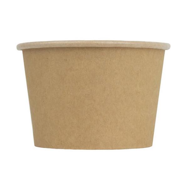 Frozen Solutions 16oz Kraft Paper Ice Cream Cup 1000ct
