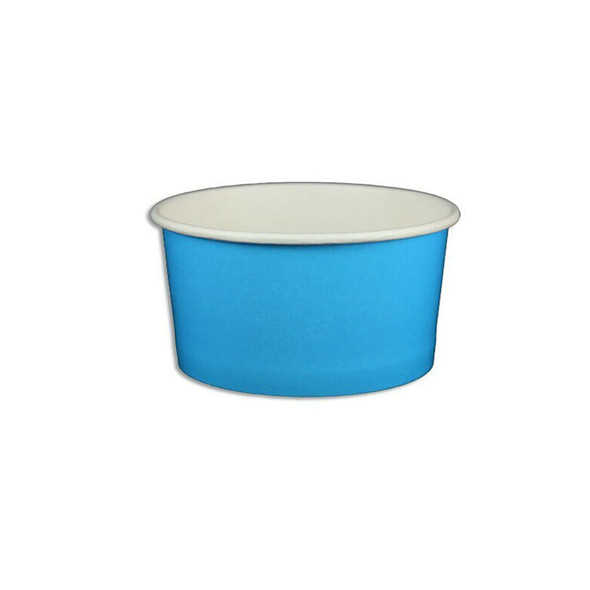 6oz Ice Cream/Froyo Cups 96mm 1000ct Blue