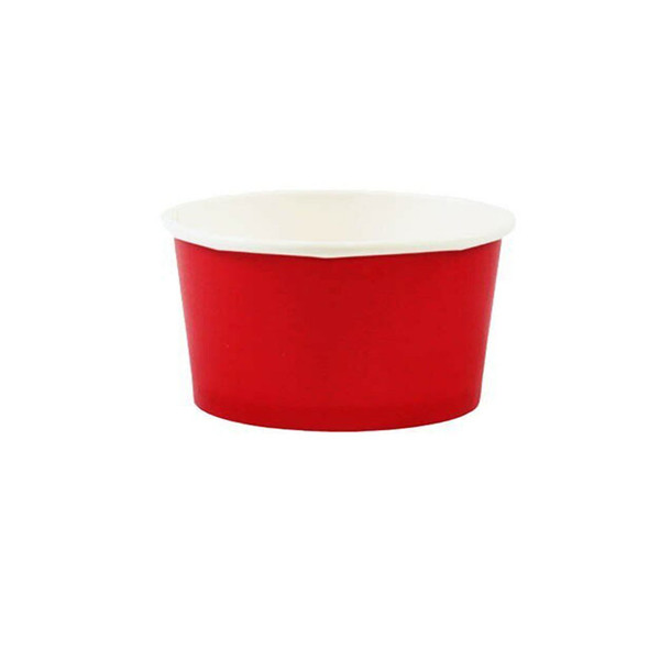 6oz Ice Cream/Froyo Cups 96mm 1000ct Red
