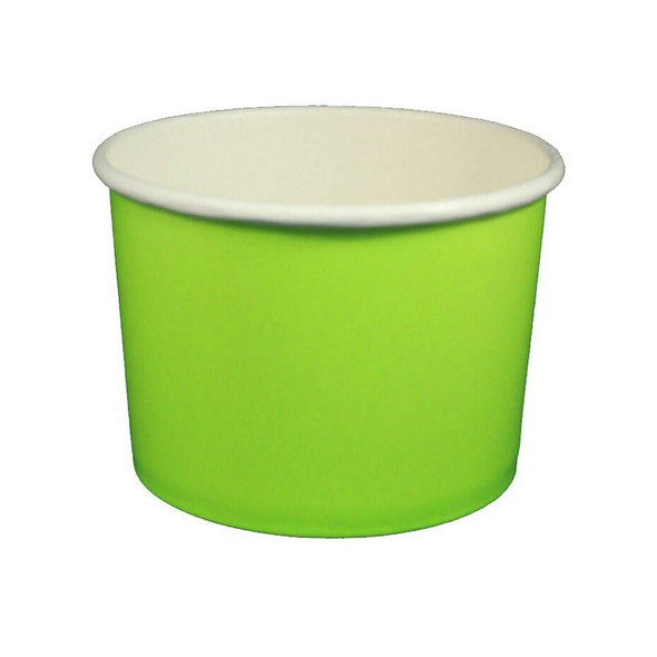 32oz Ice Cream/Froyo Cups 142mm 600ct Green