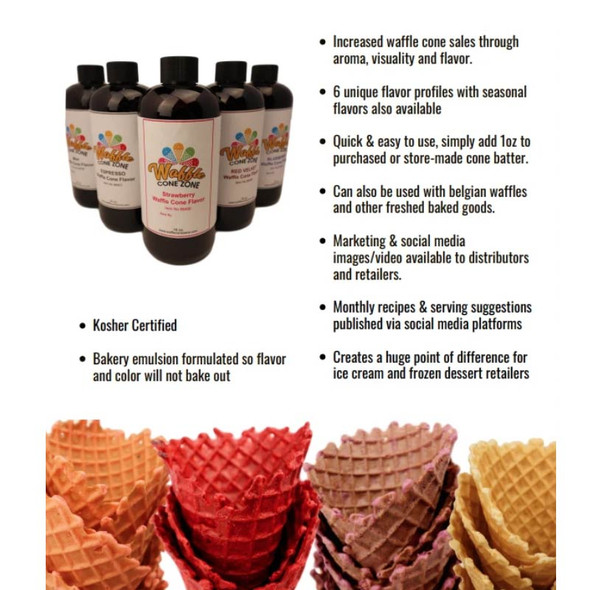 Red Velvet Waffle Cone Flavoring