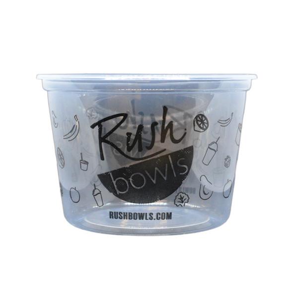 Rush Bowls 16oz Plastic Deli Container - 500ct