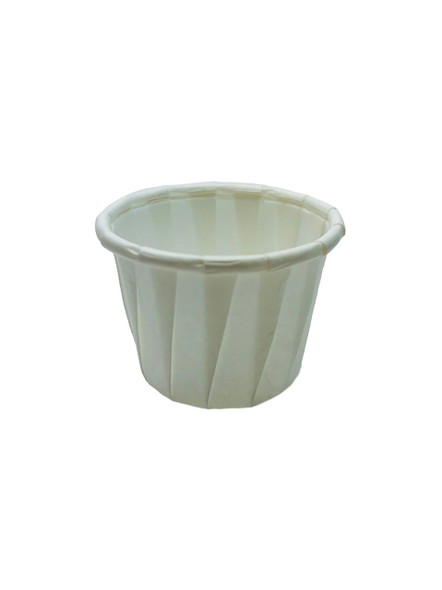 .5oz Paper Ice Cream / Froyo Sample Taster Cups 5000ct White 90g