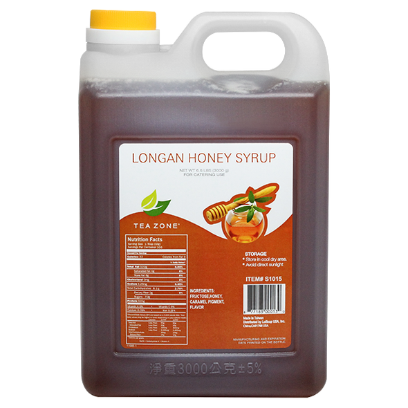 TeaZone Longan Honey 106oz Bottle
