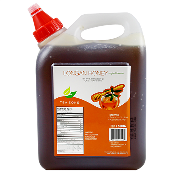 TeaZone Longan Honey 106oz Bottle ORIGINAL
