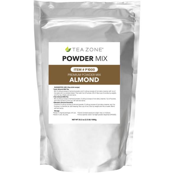 TeaZone Almond Powder 2.2lb Bag