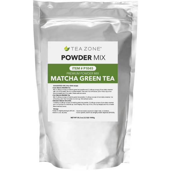TeaZone MatCha/Green Tea Powder 2.2lb Bag