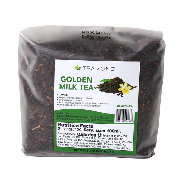 TeaZone Golden Milk Tea Leaves - Case