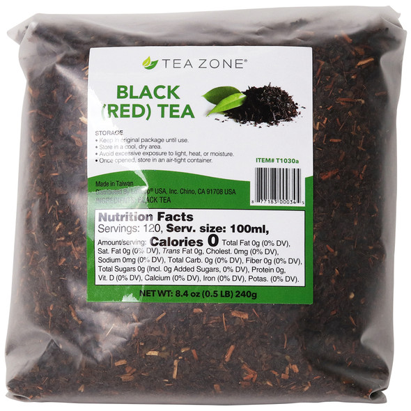 TeaZone Black Red Tea Leaves - Case