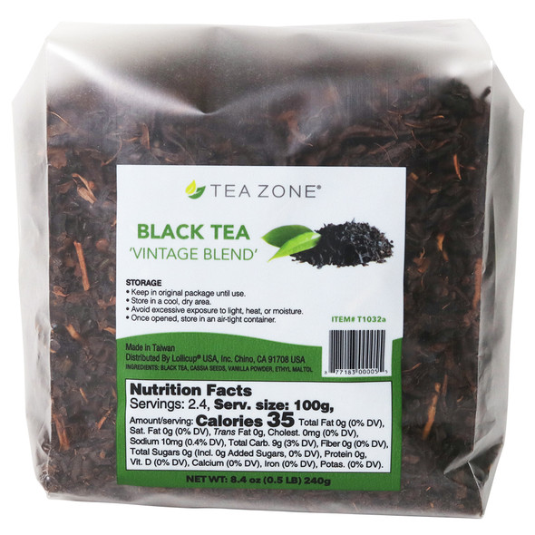"TeaZone ""Vintage Blend"" Black Tea Leaves - Case"