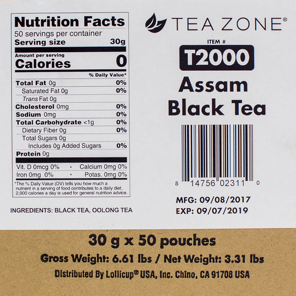 TeaZone Assam Black Tea CASE