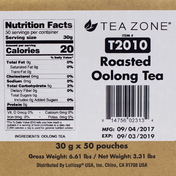 TeaZone Roasted Oolong Tea CASE
