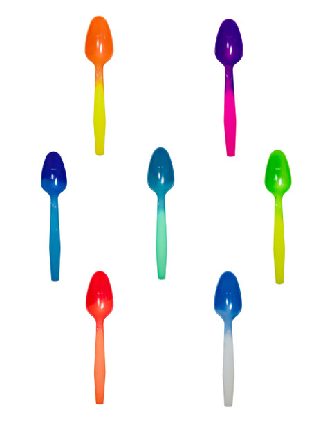 2, 4, or 6 Cases of Medium Weight MAGIC Color Changing® Spoons Made Overseas