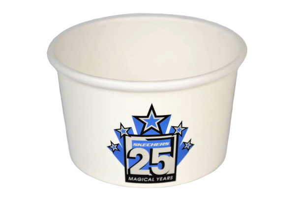 1 or 2 Color Custom Hot Paper Containers