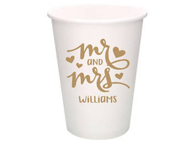 1 or 2 Color Custom Cold Paper Cups