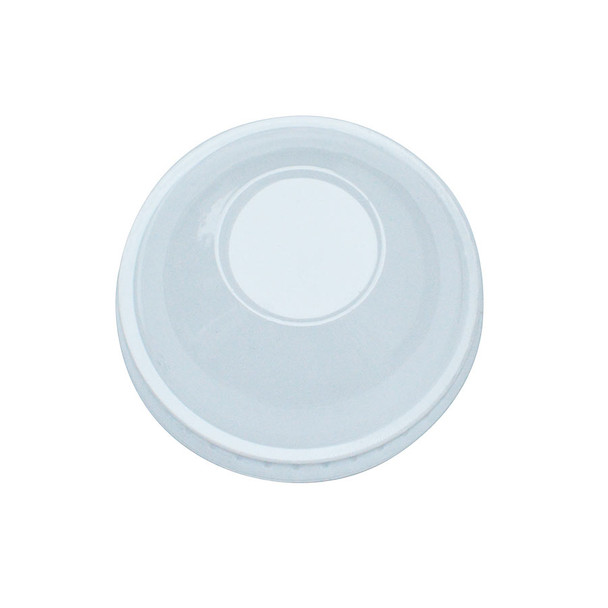 Frozen Solutions 75mm Rim PET Food Container Dome Lid No Hole 1000ct
